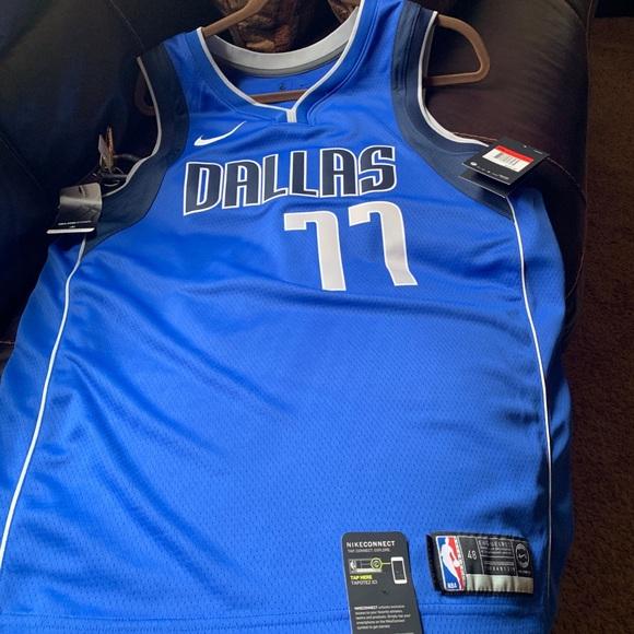 cheap for discount aebfa 84732 Dallas Mavericks Luka Doncic Nike Swingman Jersey NWT
